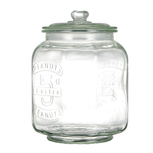 GLASS COOKIE JAR 7L