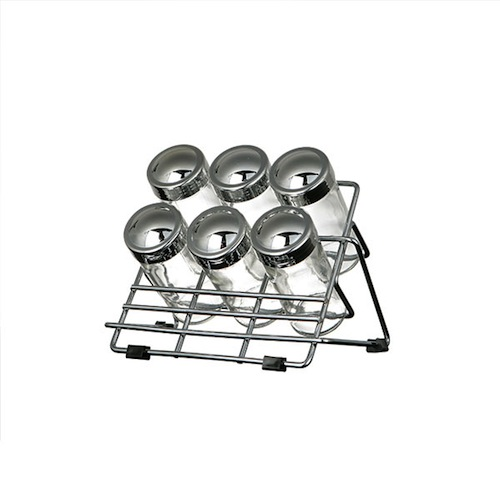 6 BOTTLES SPICE RACK