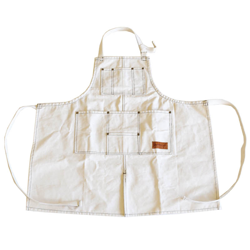 ''MW'' WORK APRON NATURAL