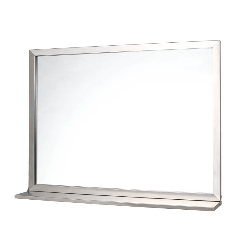 SS FRAME MIRROR WITH BRACKET