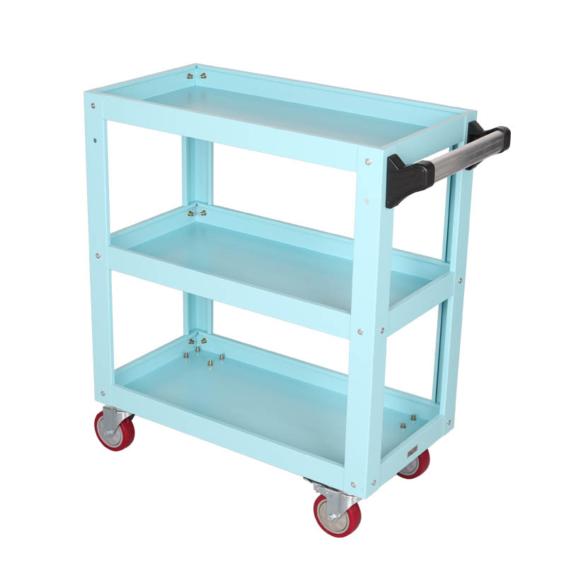 METAL TOOL CART SAX BLUE