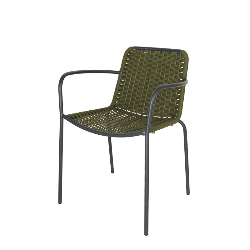 ROPE CHAIR OLIVE  [PX]