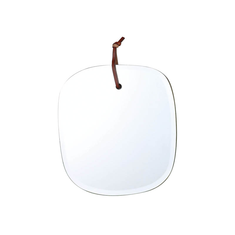 WALL HANGING MIRROR CLOUD ROUNDED