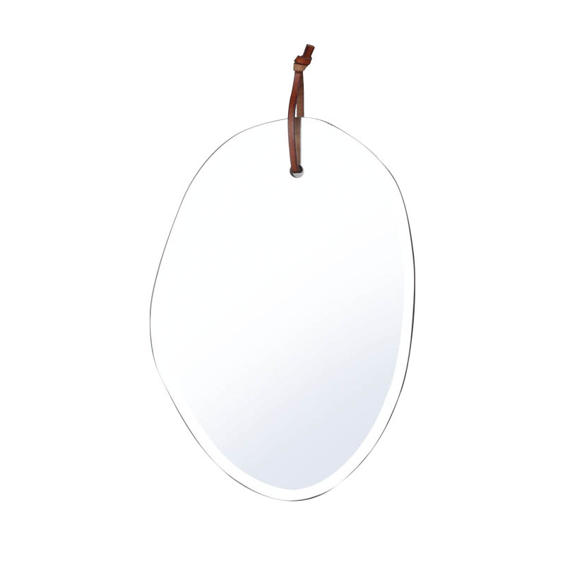 WALL HANGING MIRROR CLOUD OBLONG