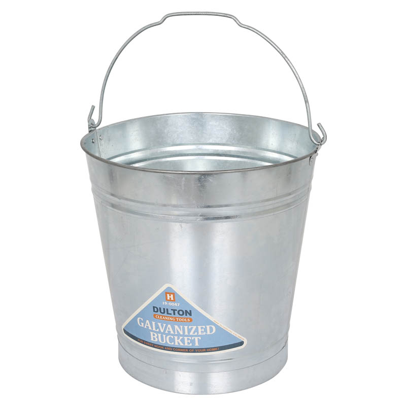 GALVANIZED BUCKET 12L