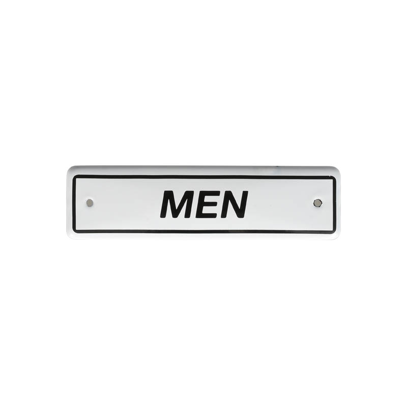 ENAMELED SIGN MEN