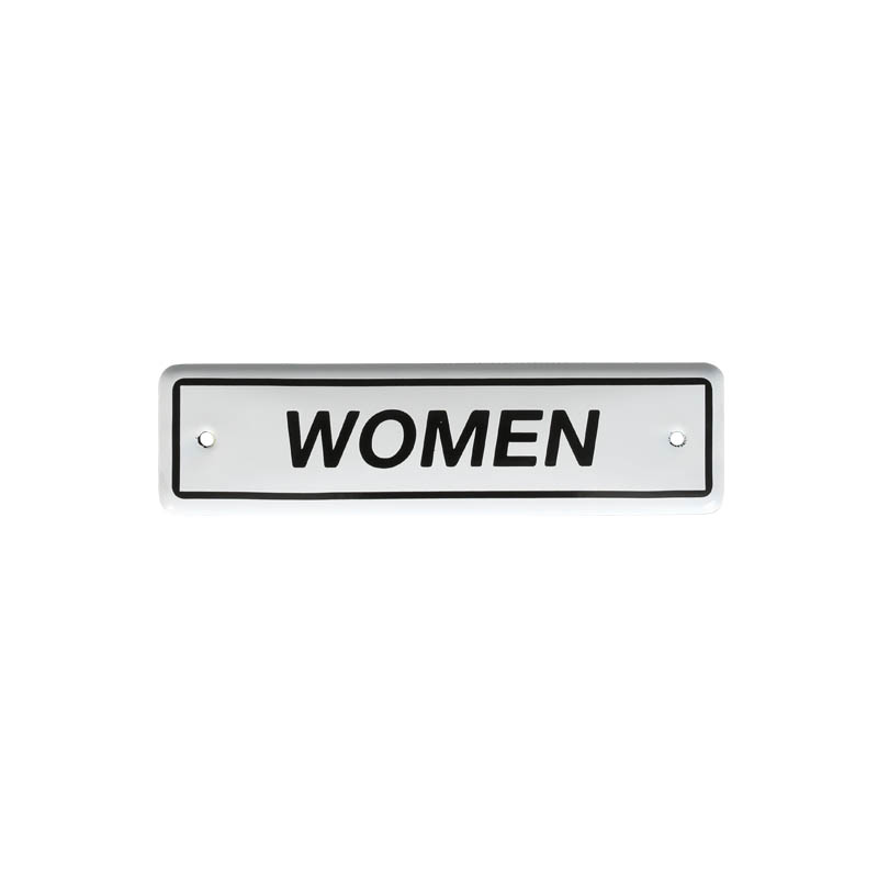 ENAMELED SIGN WOMEN