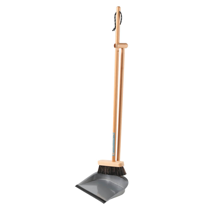 DUSTPAN & BROOM SILVER
