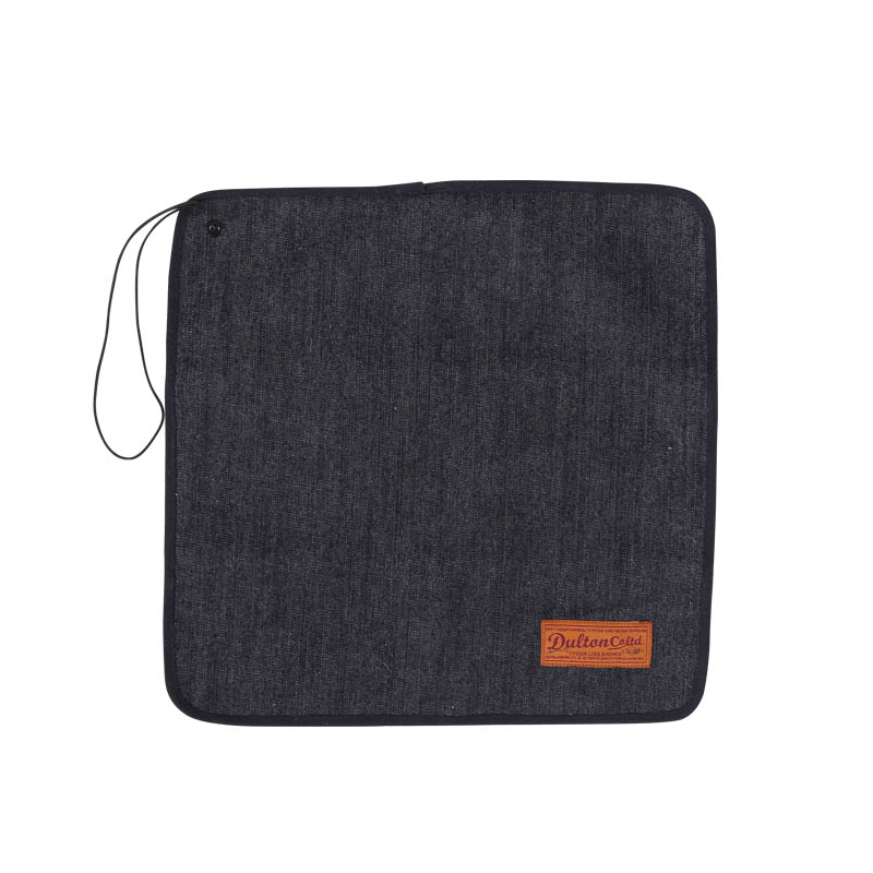 CANVAS LUNCH CLOTH WITH STRAP DENIM