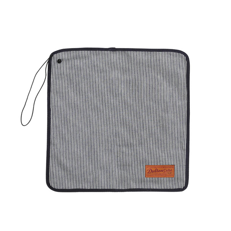 CANVAS LUNCH CLOTH WITH STRAP HICKORY STRIPE