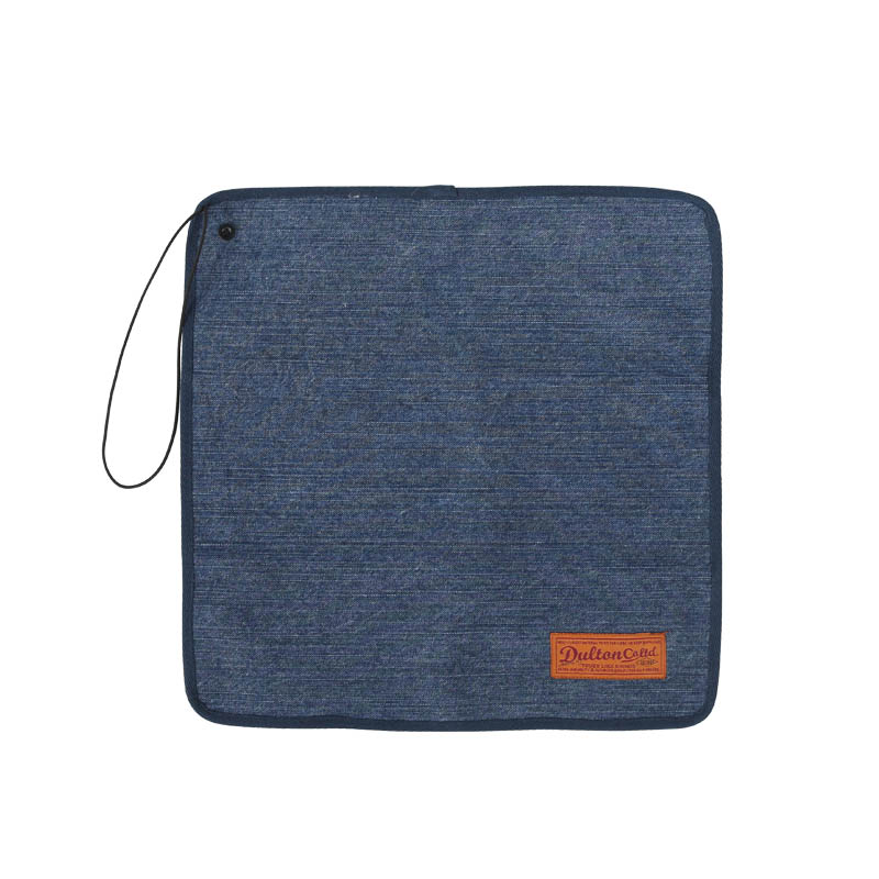 CANVAS LUNCH CLOTH WITH STRAP WASHED DENIM