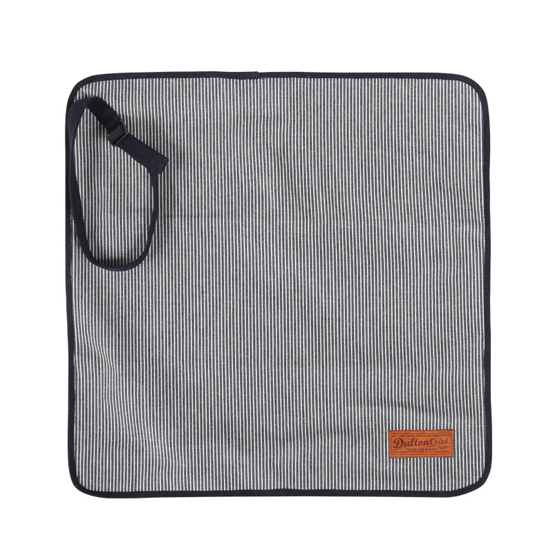 CANVAS LUNCH CLOTH WITH BELT HICKORY STRIPE