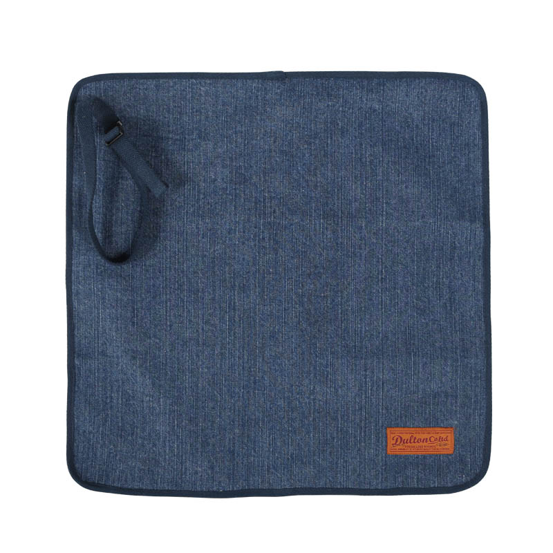 CANVAS LUNCH CLOTH WITH BELT WASHED DENIM