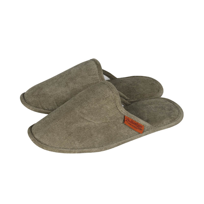 CORDUROY SLIPPERS EV MEN/GREEN